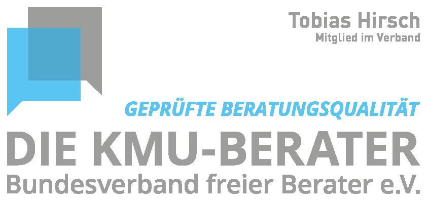 KMU-Logo_Mitglied im Verband_Tobias Hirsch